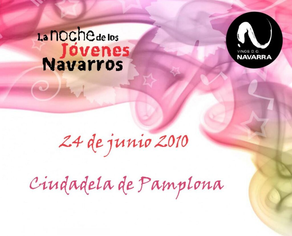 The night of the young Navarrese in Pamplona