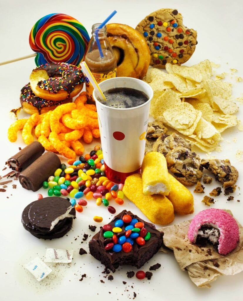 Products with TRANS fats