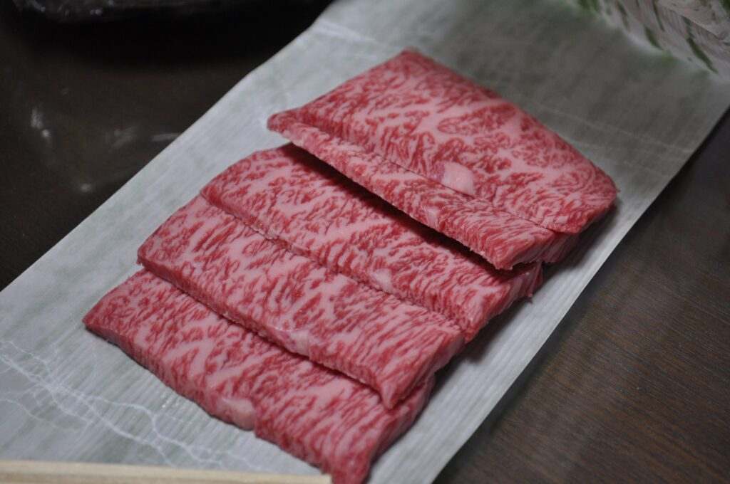 Vagyu or beef Kobe, the most expensive meat in the world