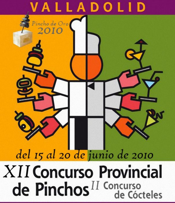XII competition of the provincial pinchos in Valladolid