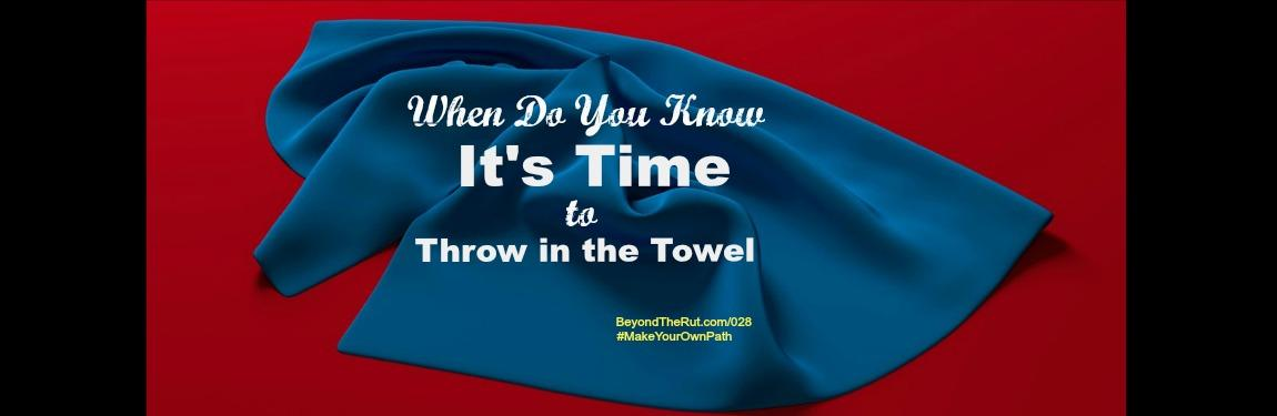 Throw-in-the-towel