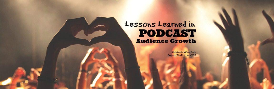 BtR 035 Podcast Audience Growth
