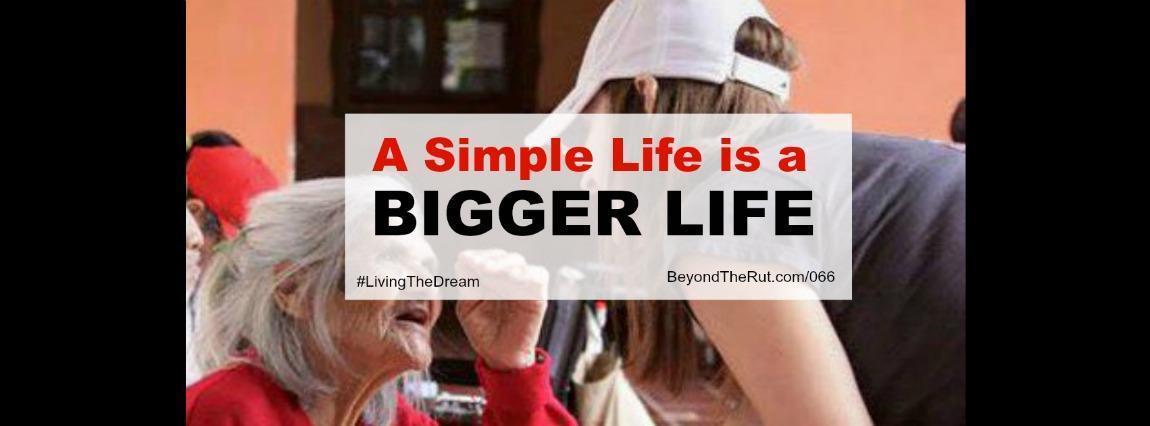 Sara McDaniel A Simple Life is a Bigger Life