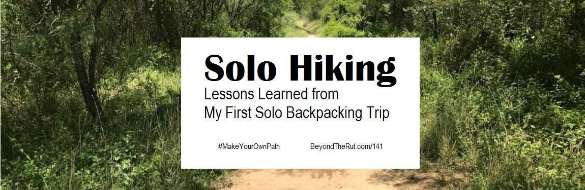 Solo-Hiking