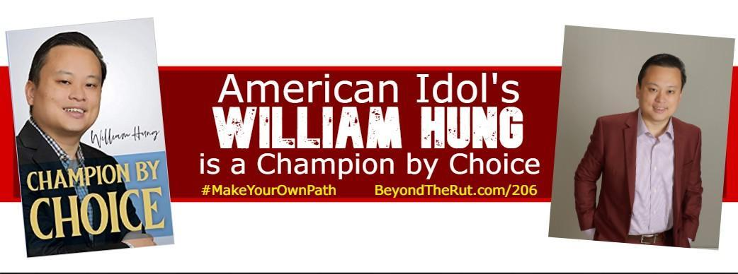William Hung Champion by Choice American Idol
