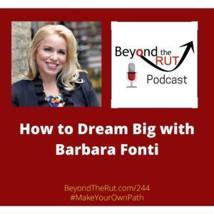 how to big dream barbara fonti