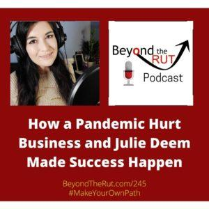 business podcast editor made success happen anyway