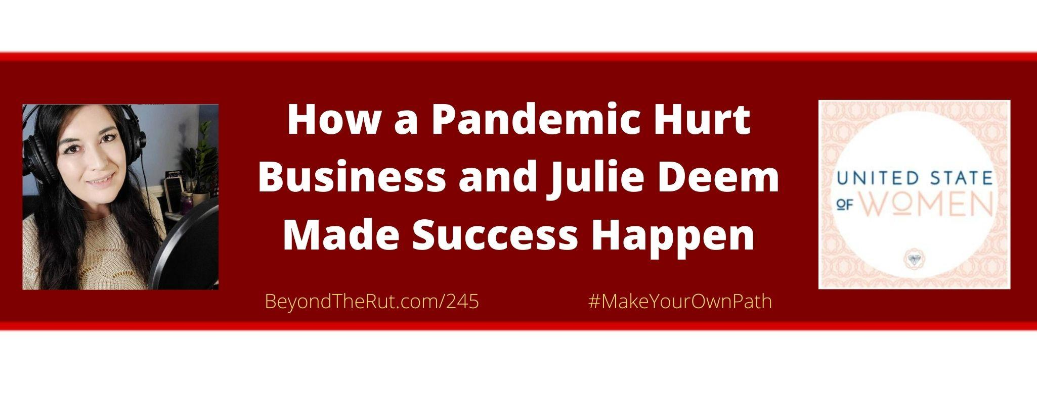pandemic hurt business
