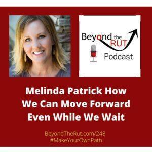 even while we wait - melinda patrick