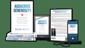 Buy your copy of Audacious Generosity today!
