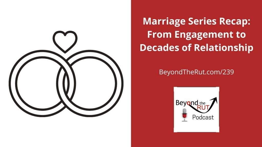 Beyond the Rut Healthy Marriage Series
