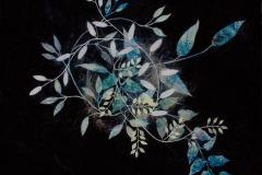 Aristata I, 2017, Oil on canvas, 30 x 40 inches/ 76.2 x 101.6 centimeters