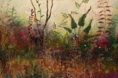 Bewilderment III, 2008, Oil on canvas, 36 x 60 inches/ 91.4 x152.4 centimeters