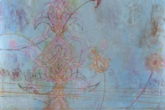 Breath V, 2010, Oil on canvas, 48 x 48 inches/ 121.9 x 121.9 centimeters