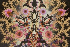 Flowers Open Every Night Across The Sky I, 2012, Oil on canvas , 30 x 30 inches/ 76.2 x 76.2 centimeters