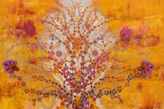 The Great Sun Outside And The Sun Inside, 2012, Oil on canvas, 36 x 50 inches/ 91.4 x 127 centimeters