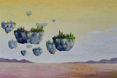 You Will Find Your Way Home, 2020, Oil on canvas, 36 x 48 inches/ 91.4 x 121.9 centimeters