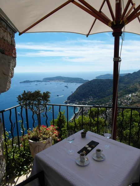 Eze le Village - Lunch with a view of paradise!