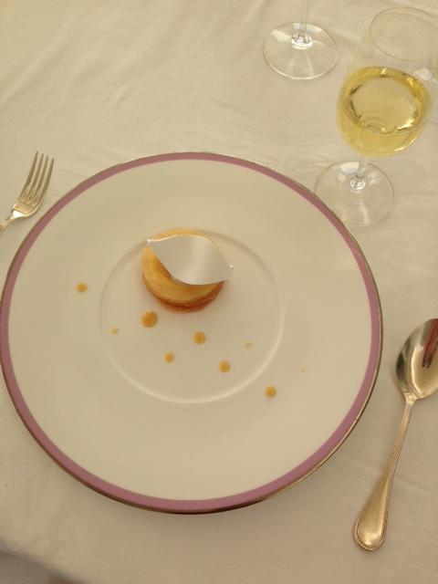 Luncheon: Dessert Le Citron accompanied by Moscato d'Asti