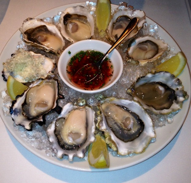 Chef's Creek, Komo Gway, Kusshi and Read Island Oysters - Blue Water Cafe, Vancouver