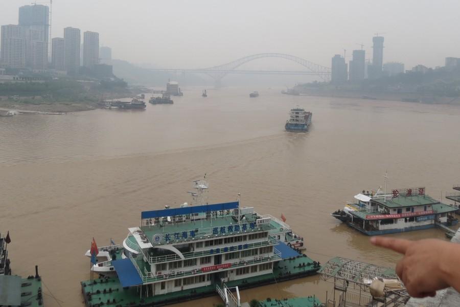 Chongqing : mountain city, foggy city