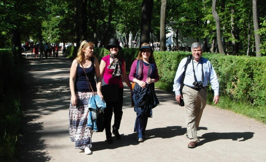Peterhof, Russia ~ The calm of Peterhof Palace