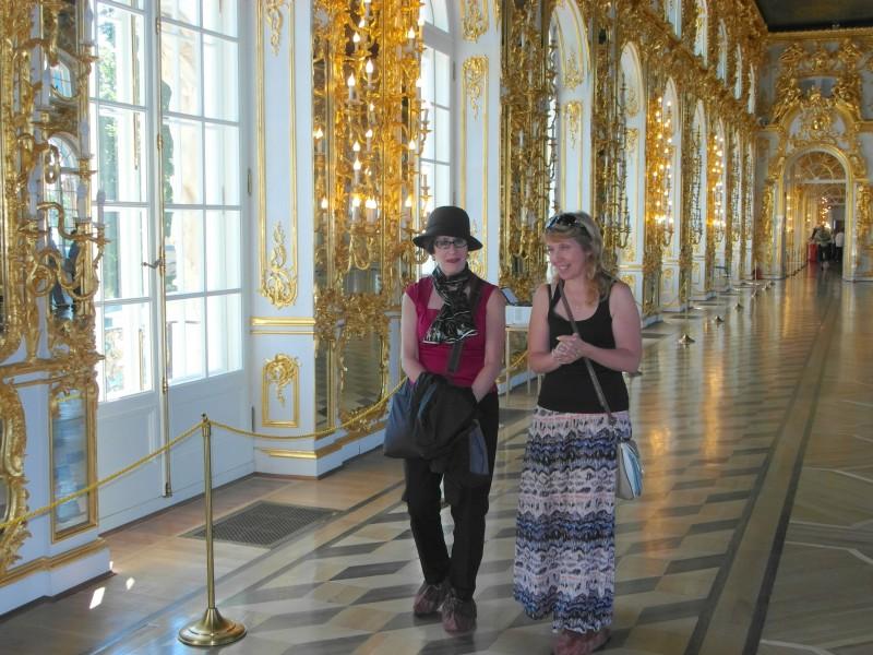 Pushkin, Russia near Saint Petersburg - Catherine's Palace and the Amber Room