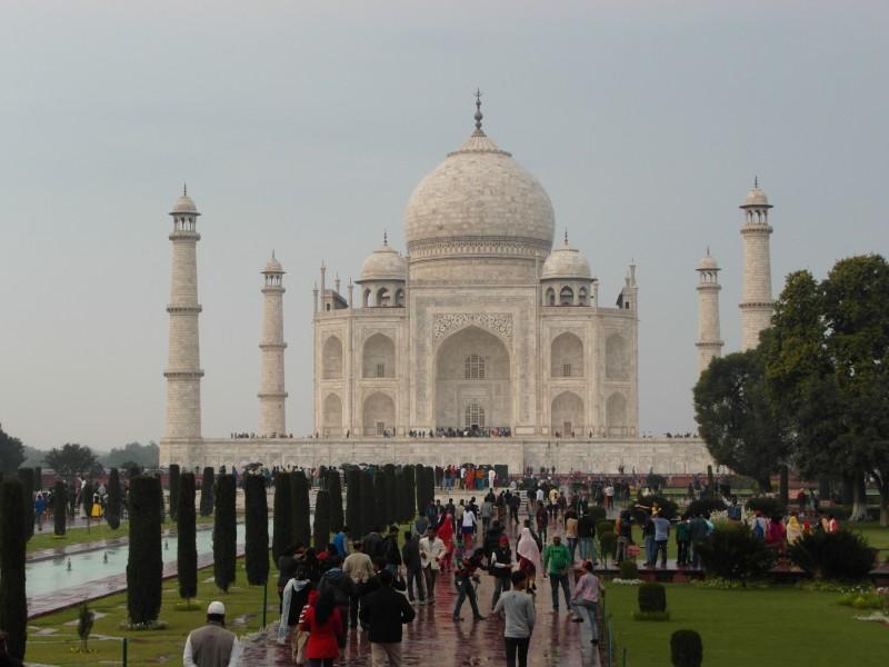 India travel : the Taj Mahal in Agra