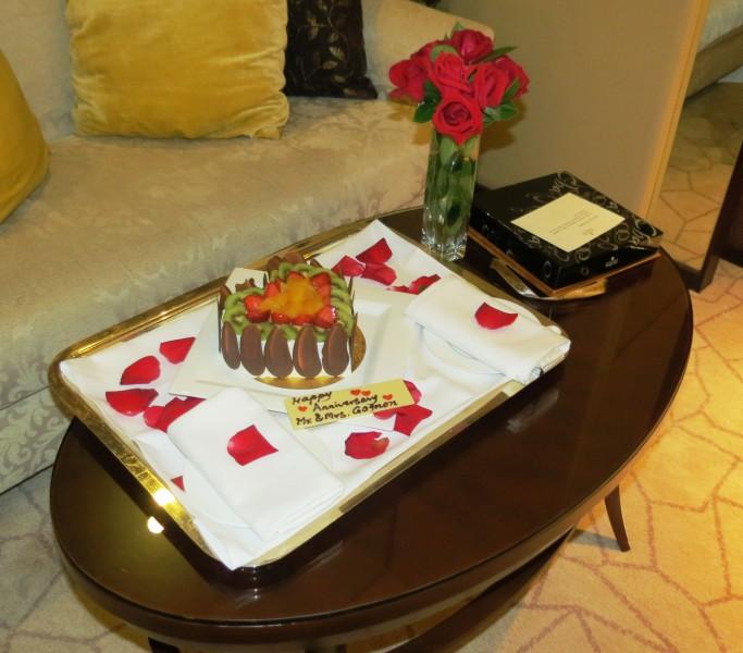 Shangri-La Hotel welcome