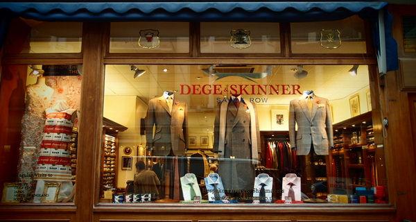 Dege & Skinner of Savile Row in London