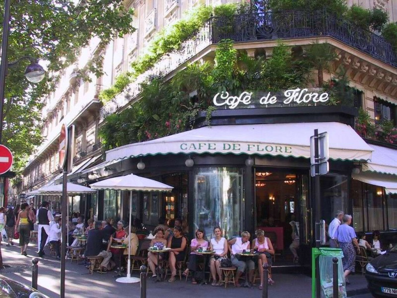 Top five bistros and brasseries of Paris - Cafe de Flore