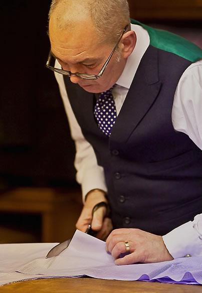 Robert Whittaker of Dege & Skinner - London