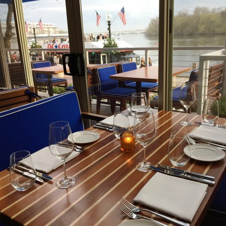 Fiola Mare - best waterfront restaurant in Washington DC