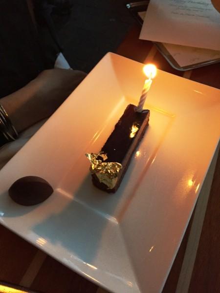 Fiola Mare Chocolate birthday cake