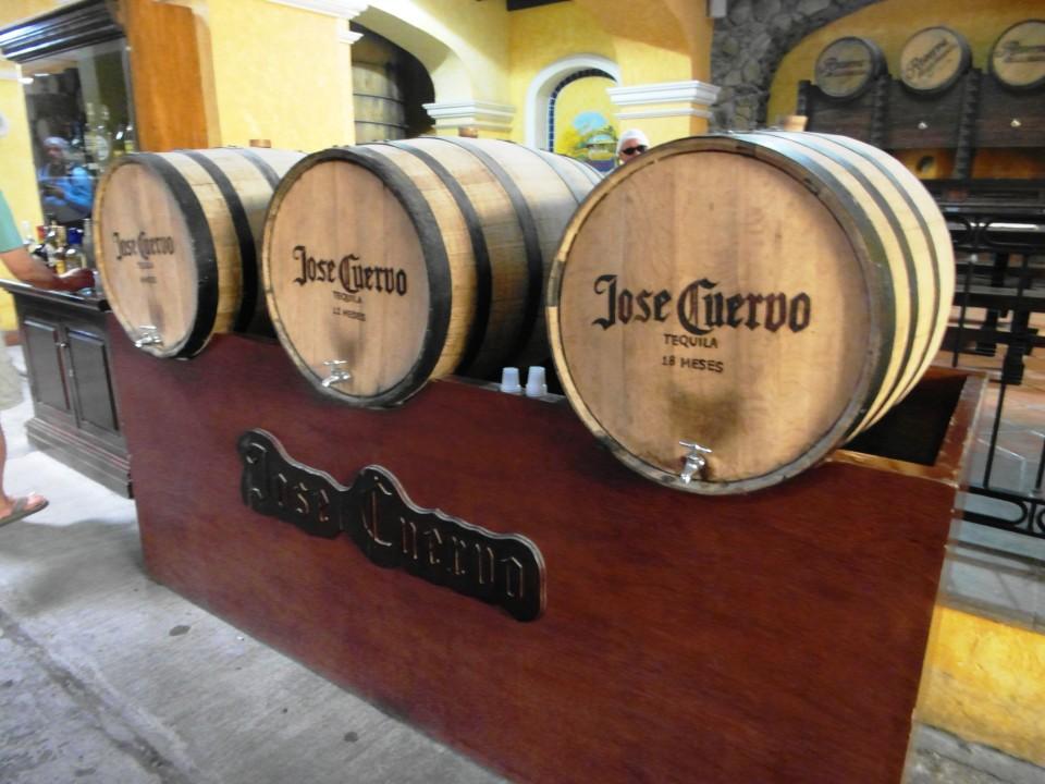 Jose Cuervo La Rojena - Barrels of Tequila
