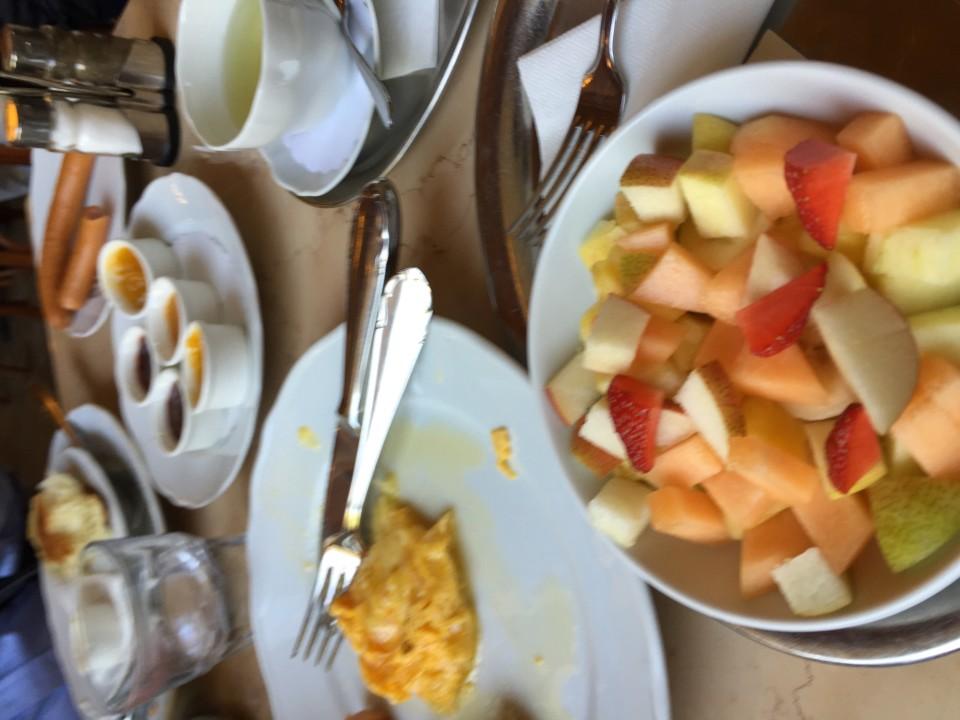 Cafe Savoy in Prague - the Savoy fresh fruit salad