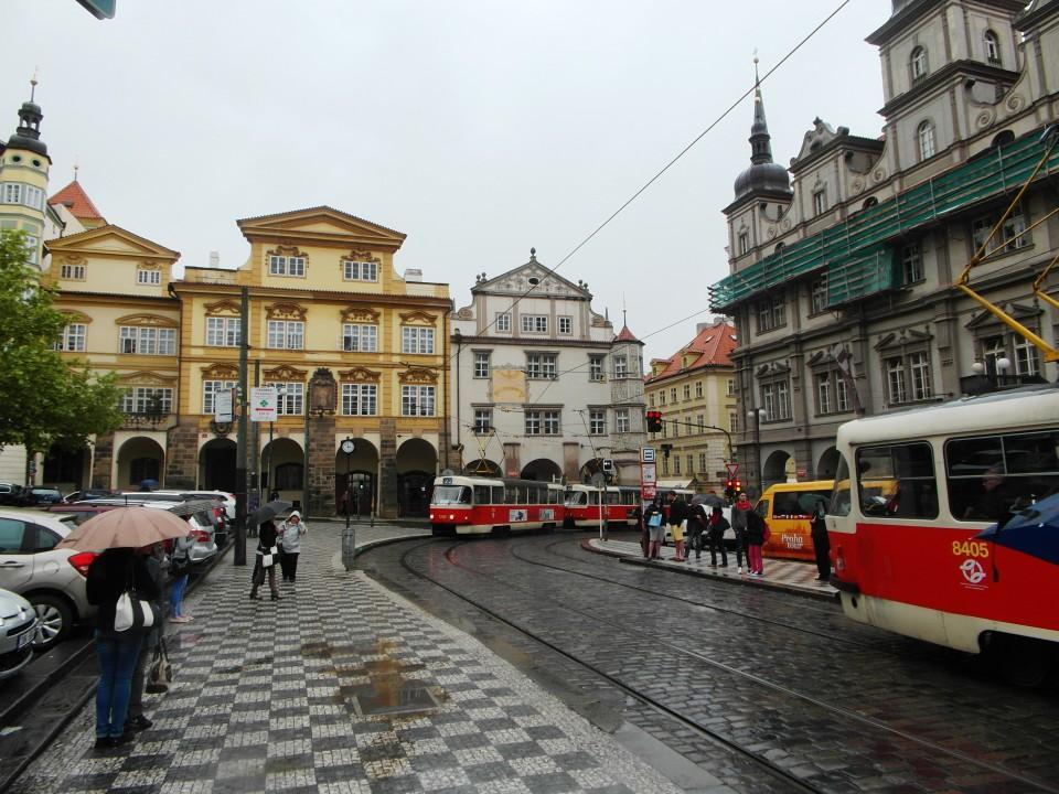 Prague : Main square of Lesser Town