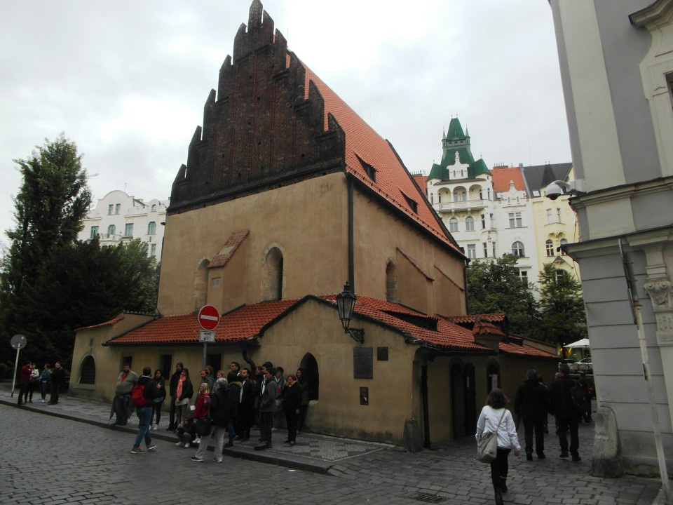 The Old New Synagogue of Prague, which opened in 1270, is Europe's oldest active synagogue!