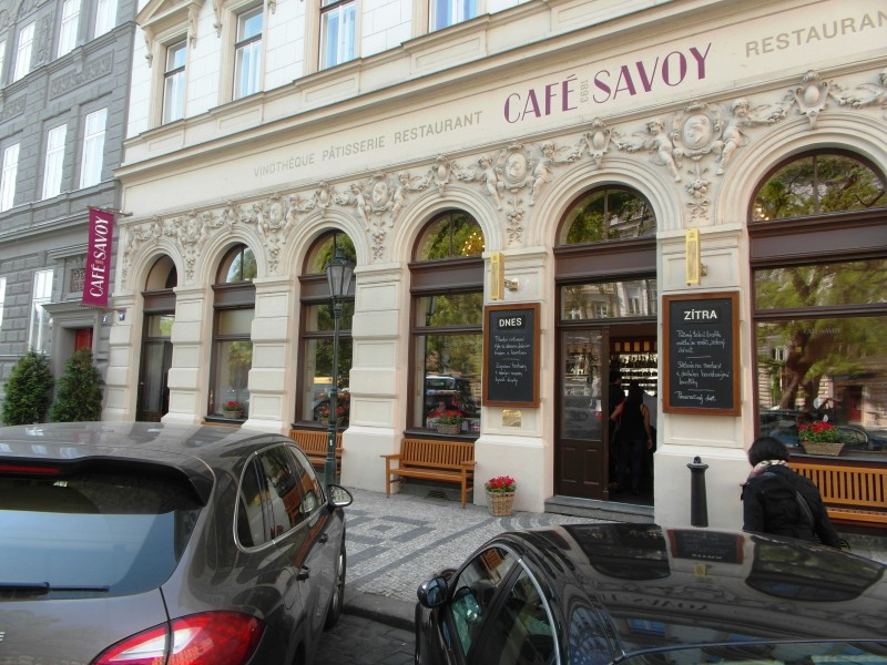 Prague Cafes : Cafe Savoy