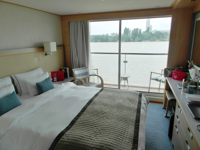 Viking River Cruises veranda cabin