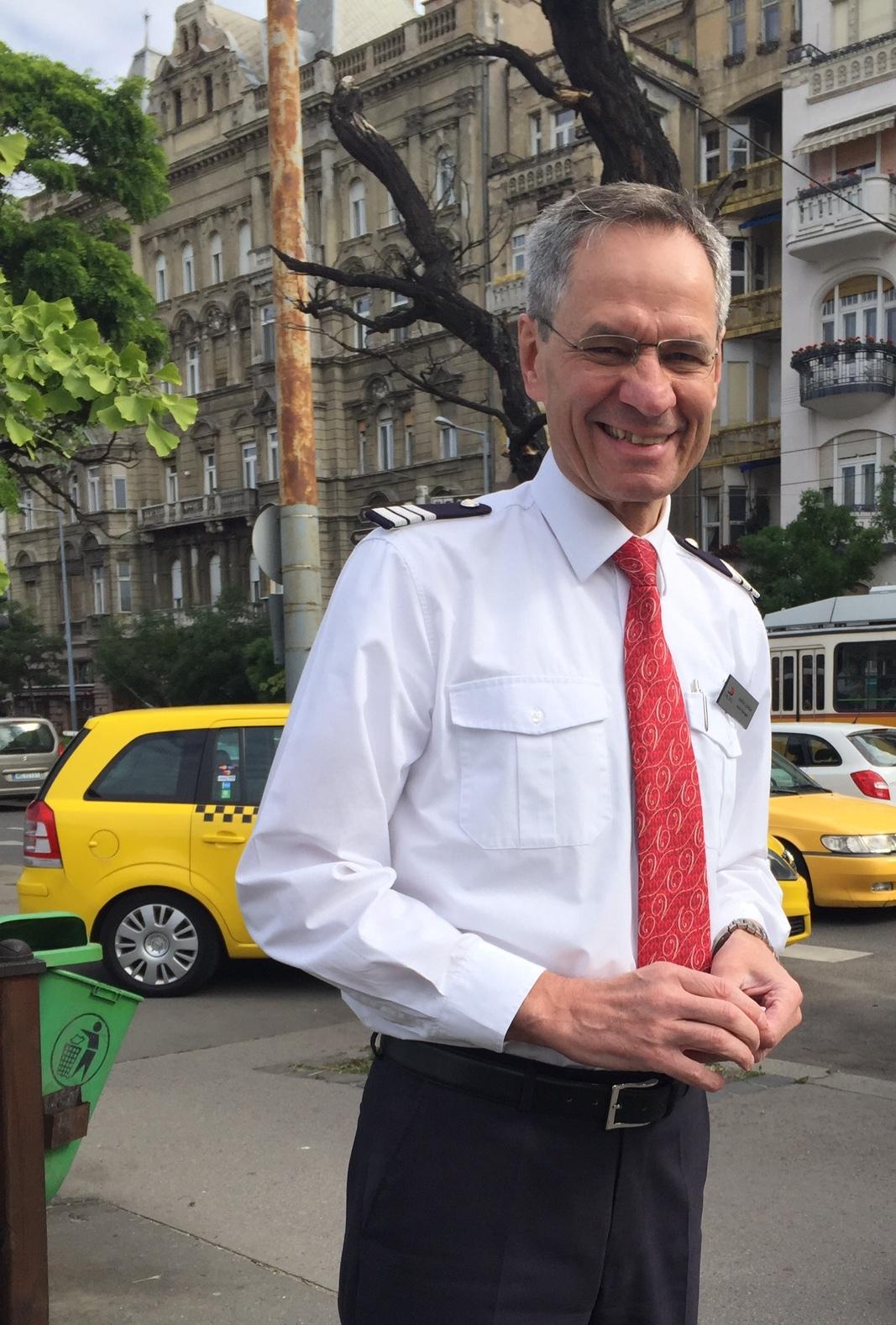 Viking Tor Longship Hotel Manager Jodok Greber