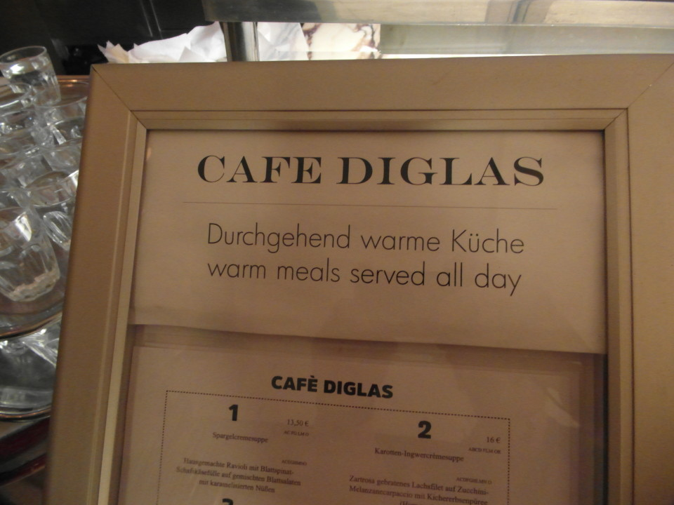 Vienna cafes and coffee houses : Cafe Diglas