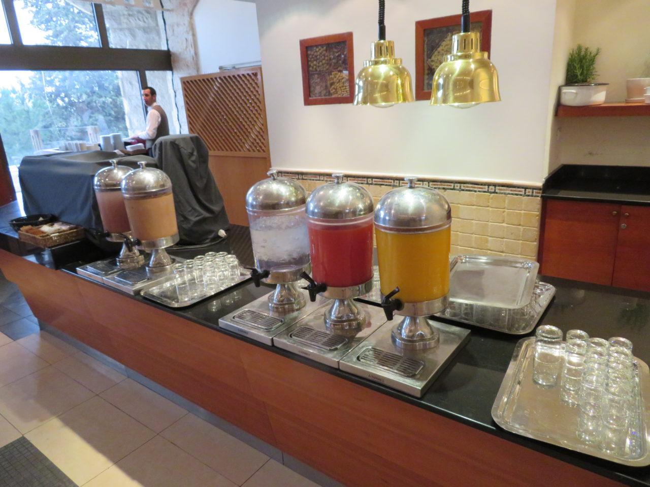 Israeli Breakfast : Freshly Squeezed Juices