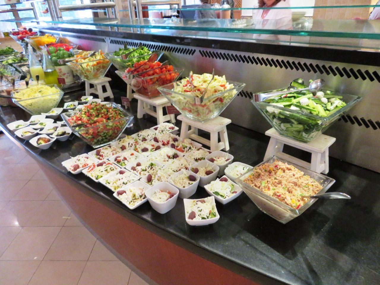Israeli Breakfast : Salads