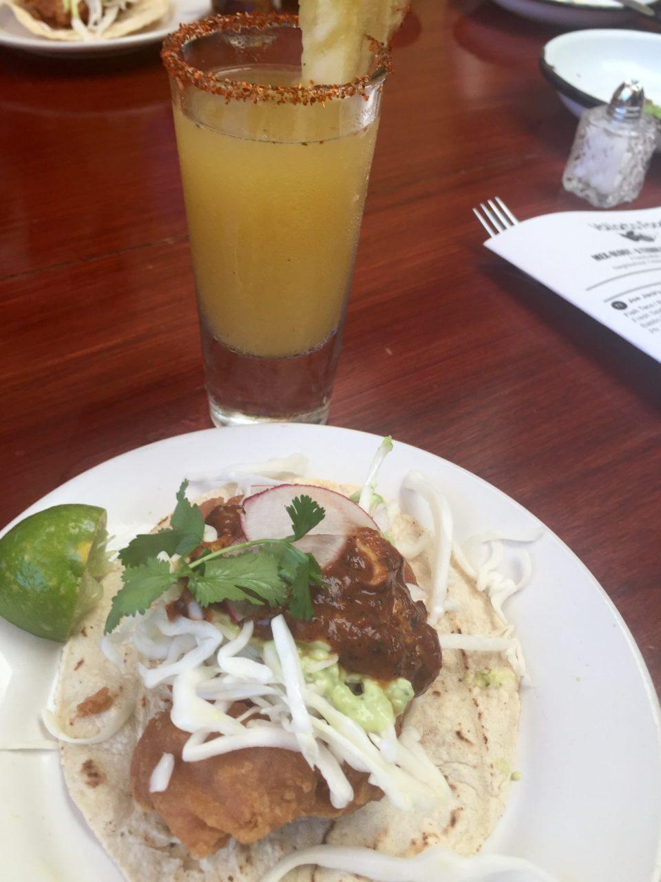 Puerto Vallarta Favorite Experiences : Taco and Margaritaat Jo Jack's Fish Shack