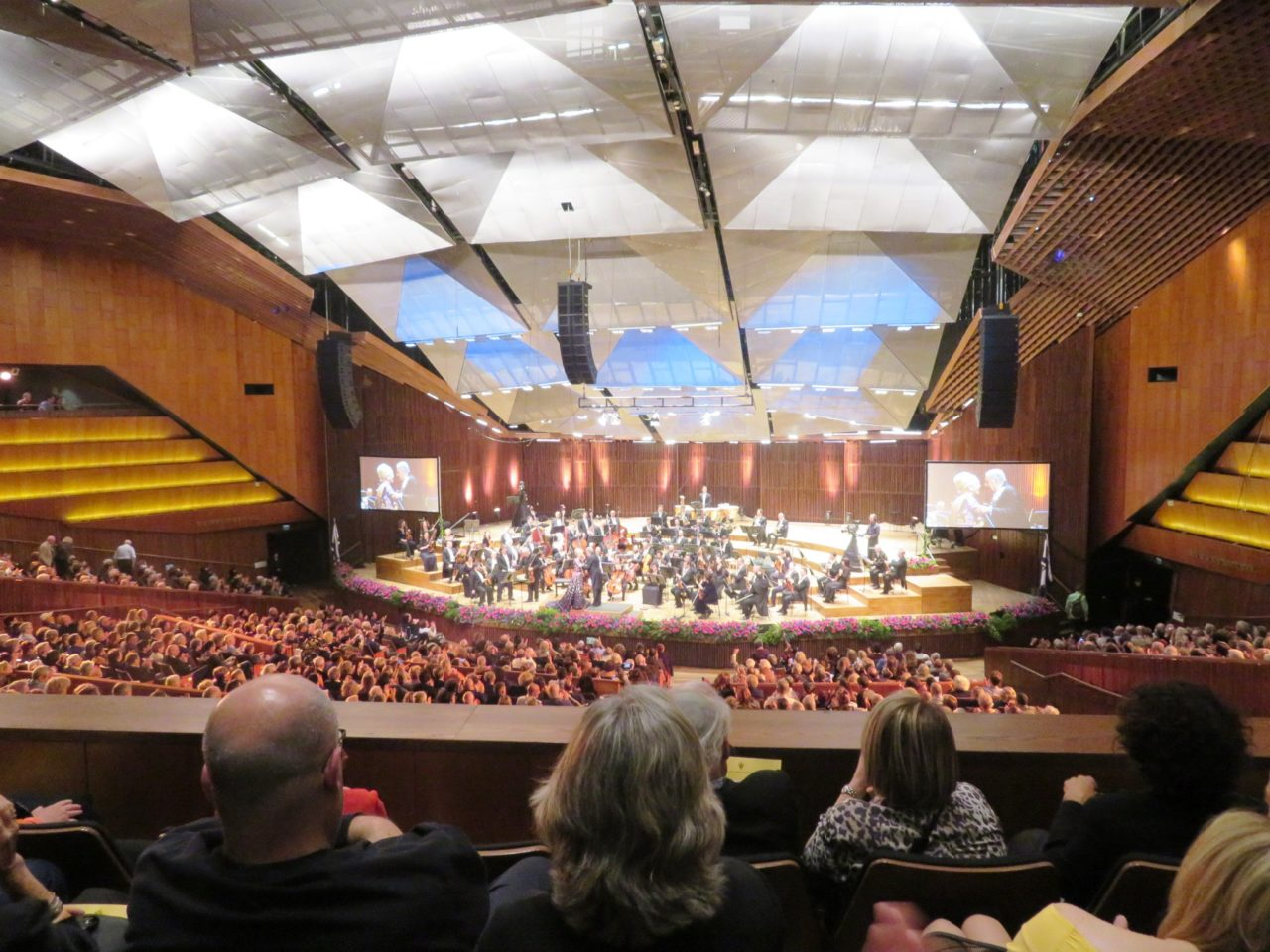 Favorite Israel Vacation Experiences : Zubin Mehta's 80th Birthday Concert at the superb Charles Bronfman Auditorium in Tel Aviv
