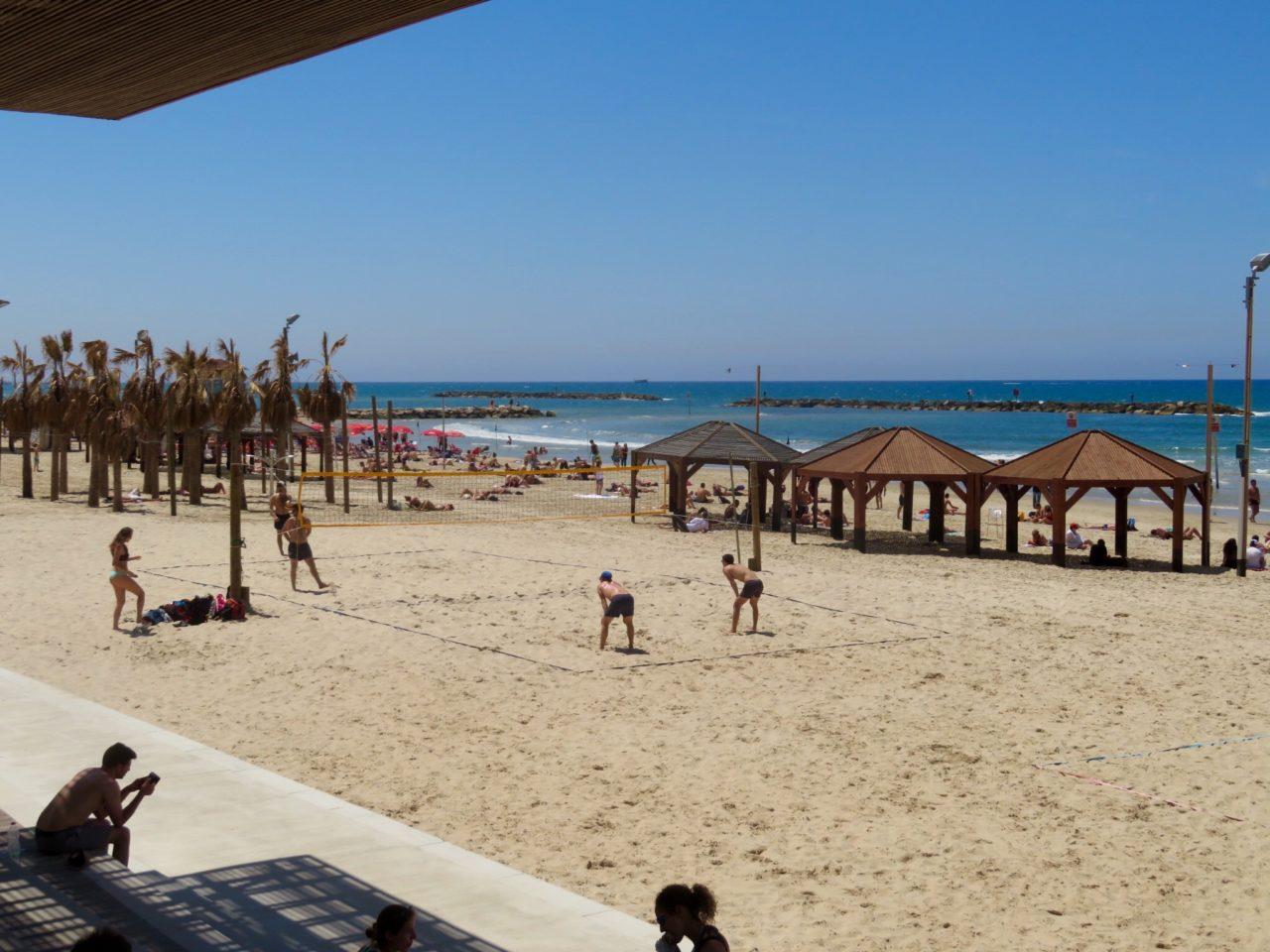 Tel Aviv Beach : Frishman Beach