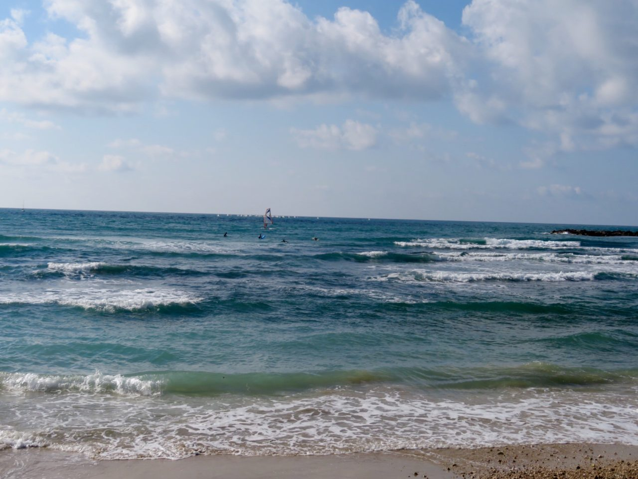 Tel Aviv Beach : Surfer's Beach