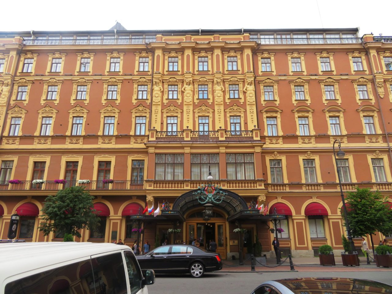 The Belmond Grand Hotel Europe in St. Petersburg, Russia