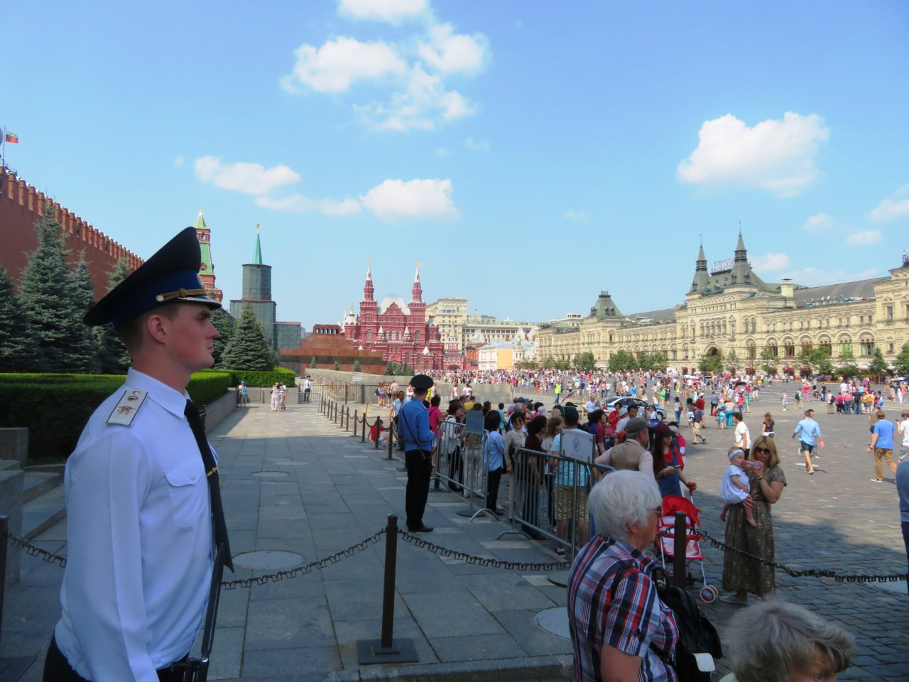 Moscow: Now a World-Class Destination ~ Red Square and the Walls of the Kremlin, Lemin's Mausoleum, State History Museum of Russia and GUM department store